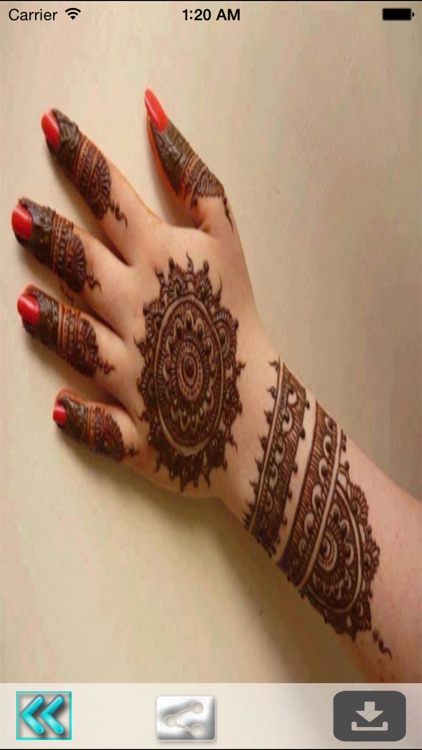 Henna Mehndi Tattoo Designs for Wedding Occasion screenshot-4