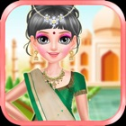 Indian Doll - Fashion Makeover Games For Girls icon