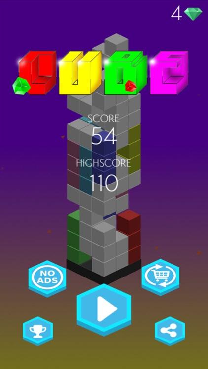 Magic color cube - 3D Block classic games screenshot-4