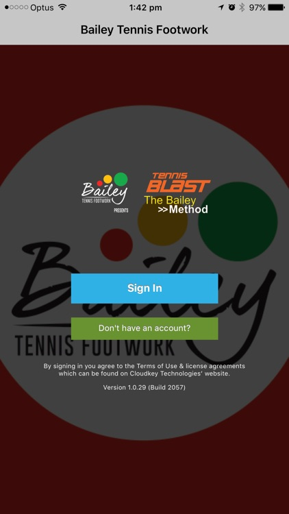 Bailey Tennis Footwork