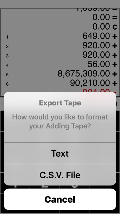 Adding Tape Printing Calculator with virtual tape screenshot-3