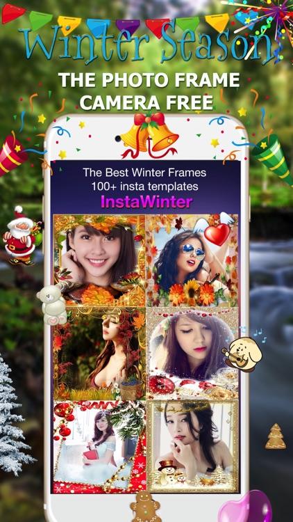 Christmas Frame - Camera Sticker, Take Photo