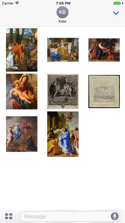 Eustache Le Sueur Artworks Stickers