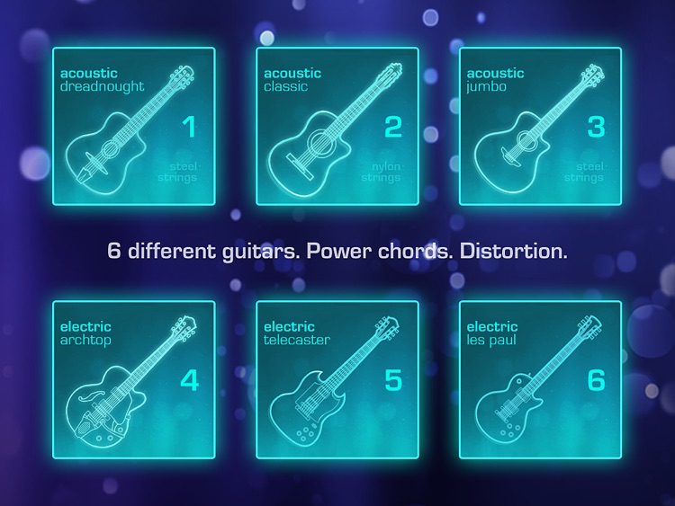 OMGuitar - Digital Guitar with FX and Autoplay screenshot-1