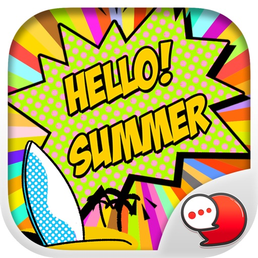 Summer Girl Stickers for iMessage
