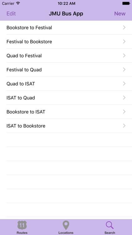 The JMU Bus App screenshot-3
