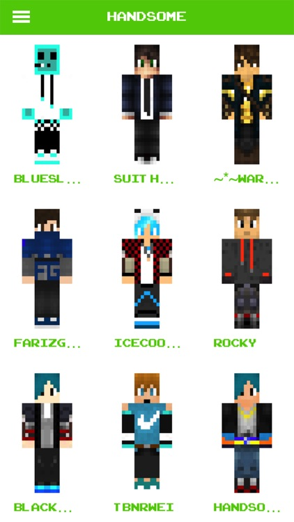 Boy Skins for Minecraft- Pocket Edition 2017