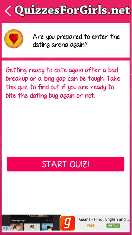 Quizzes For Girls screenshot-4