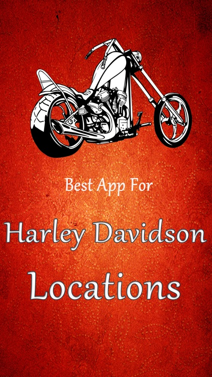 The Best App For Harley Davidson Locations screenshot-0