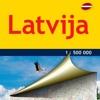 Латвия. Карта автодорог