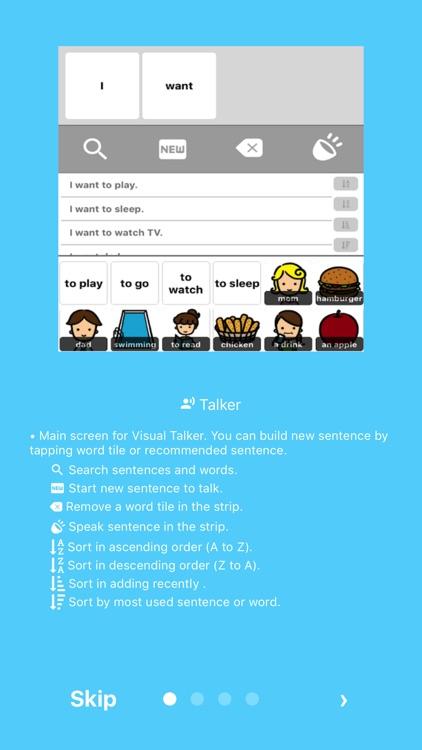 VisualTalker Lite - The Simplest AAC