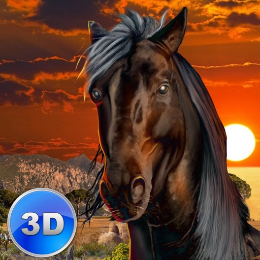 Wild African Horse: Animal Simulator 2017 icon