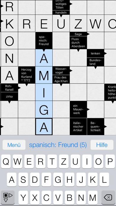 Kreuzworträtsel App