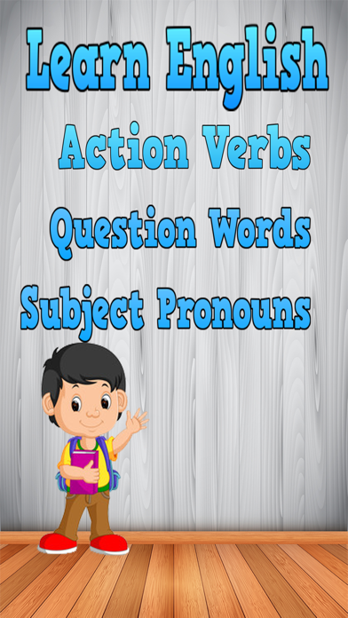 flashcards action verbs for kids