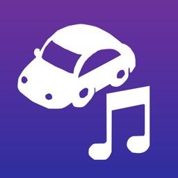Car Audio (Landscape Music App)