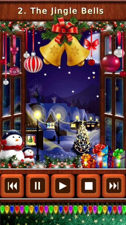 Christmas Songs & Bells Music Box