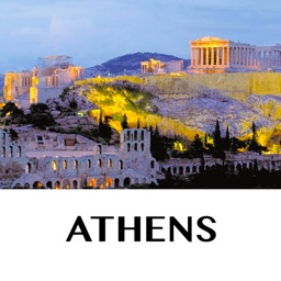 Athens - holiday offline travel map