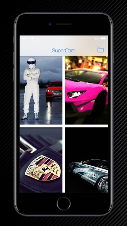 SuperCars - HD Wallpapers & Lock Screens screenshot-4