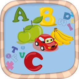 ABC learning games for kids – color the letters