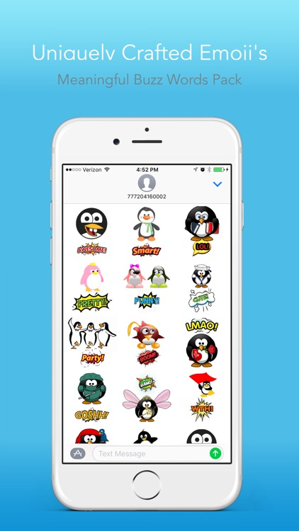 Penguin Lifemoji - Funny Emoji for Messaging