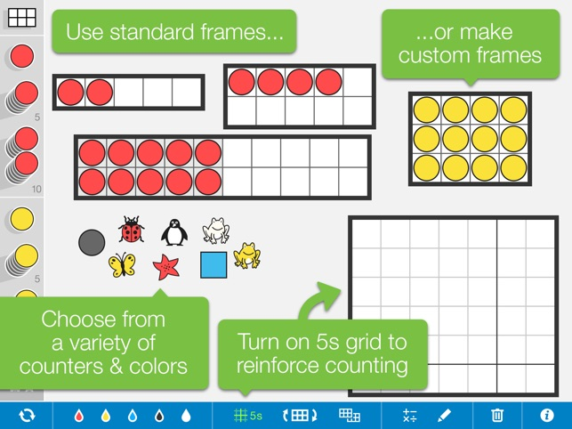 Number Frames, by the Math Learning Center on the App Store