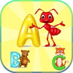 ABC Tracing Letter English Cursive Words Alphabet
