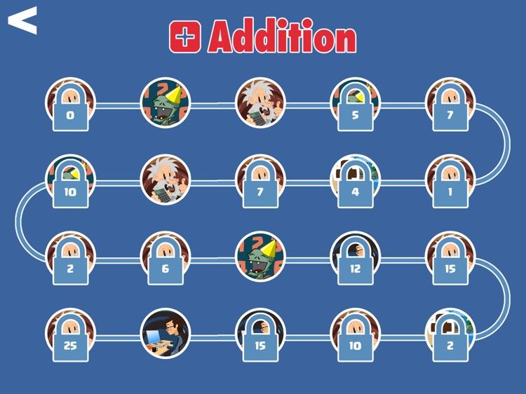 First Grade Math - Addition game screenshot-4