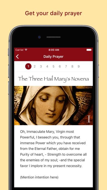Pray: The Catholic Novena App screenshot-3