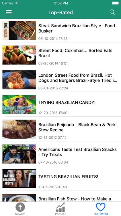 Brazil News in English & Brazilian Music Radio screenshot-3