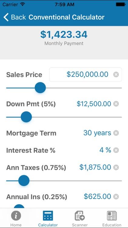 Mortgage Calculator by Brad Roche