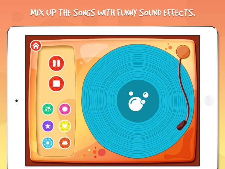 Moon Tunes - Music Player For Kids screenshot-4