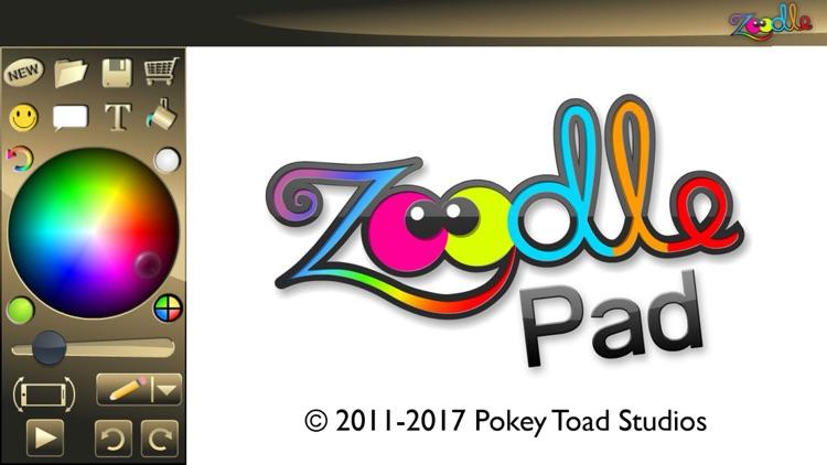 Zoodle Pad - Free Sketching, Drawing, Coloring screenshot-4