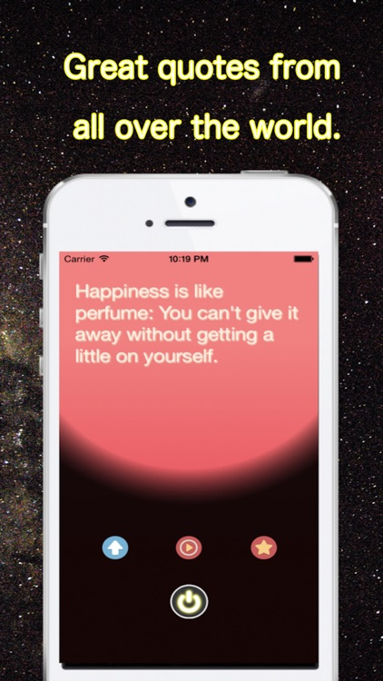 HappySwitch - Quotes to be happy