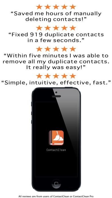 ContactClean Pro - Address Book Cleanup & Repair Screenshot