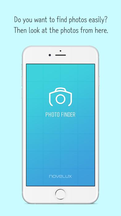 Photo Finder Lite screenshot one