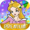 Pintar a la bella princesa juego de colorear – Pro