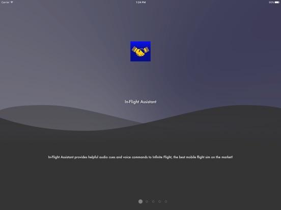 In-Flight Assistant на iPad