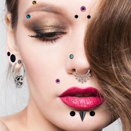 Body Piercing Ideas Photo Editor Sticker Design