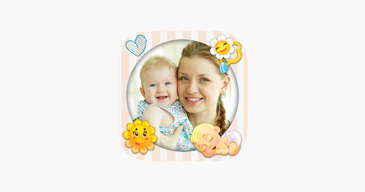 Baby photo frames for kids – Photo editor on the App Store