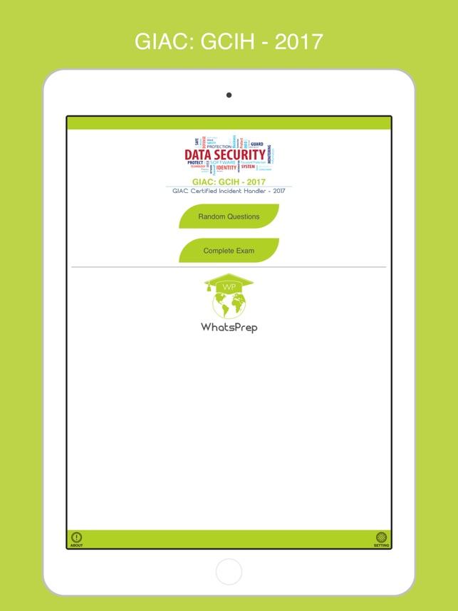 Gcih Giac Certified Incident Handler Gcih On The App Store