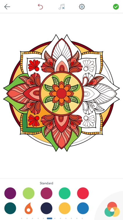 Magic Mandalas - Coloring Book for Adults
