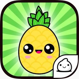 Pineapple Evolution Food Clicker