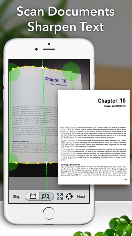 Faster Scan+ - PDF document scanner screenshot-1