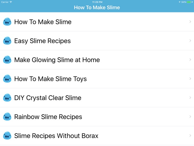 How to make slime slime making on the app store how to make slime slime making on the app store ccuart Gallery