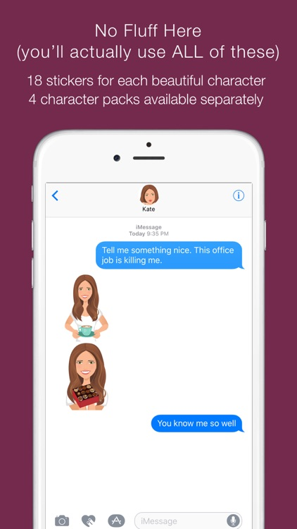 Telle-Kate: Chic stickers for women & girl talk screenshot-4