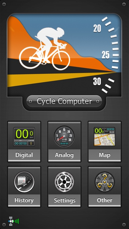 CycleComputer GPS - Cycling and route tracking