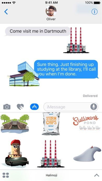 Halimoji - Halifax Sticker Pack screenshot two