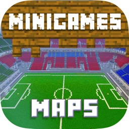 MINIGAMES MAPS FOR MINECRAFT PE