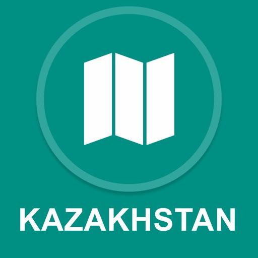Kazakhstan : Offline GPS Navigation