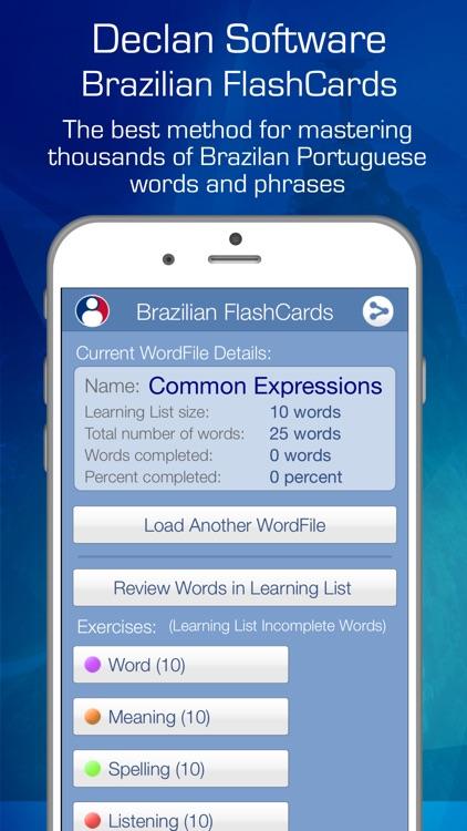 Learn brazilian audio flashcards by declan software learn brazilian audio flashcards m4hsunfo